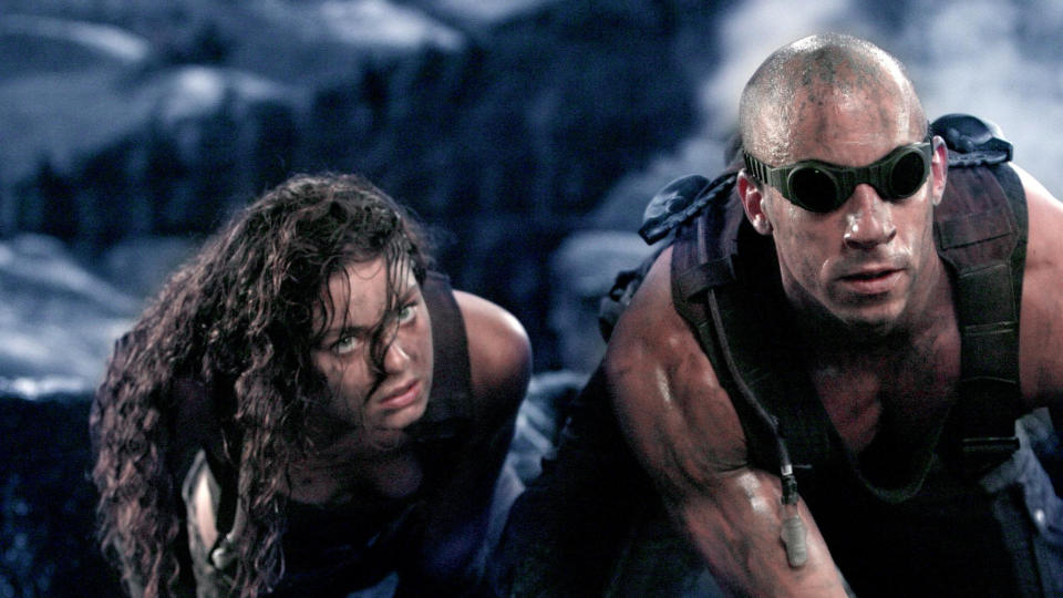 2004 sequel 'The Chronicles of Riddick'. (Credit: Universal)
