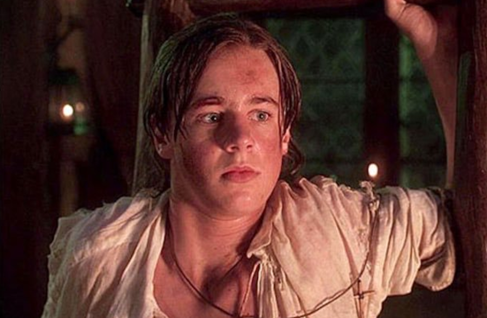 """<p>Thackery, a.k.a. Sean, was only 16 at the time when he played Emily's heroic older brother. Because of his young age, he only had <a href=""""https://www.imdb.com/name/nm0615266/?ref_=fn_al_nm_1"""" rel=""""nofollow noopener"""" target=""""_blank"""" data-ylk=""""slk:a few credits to his name"""" class=""""link rapid-noclick-resp"""">a few credits to his name</a> in 1993, including <em>Too Romantic</em>, <em>Civil Wars</em>, and <em>This Boy's Life</em>. </p>"""