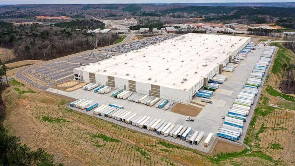 PHOTO: An Amazon facility in Bessemer, Ala., March 5, 2021. (Dustin Chambers/Reuters, FILE)