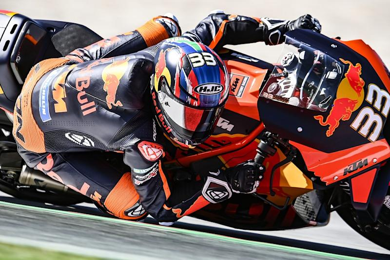 Espargaro 'doesn't know how to push' on