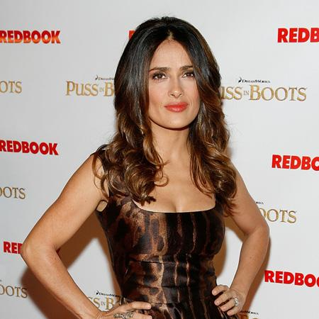 Salma Hayek: I give good style tips
