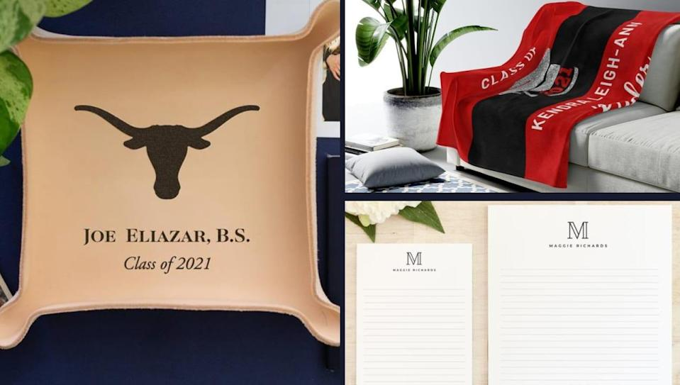 22 personalized graduation gifts they'll love