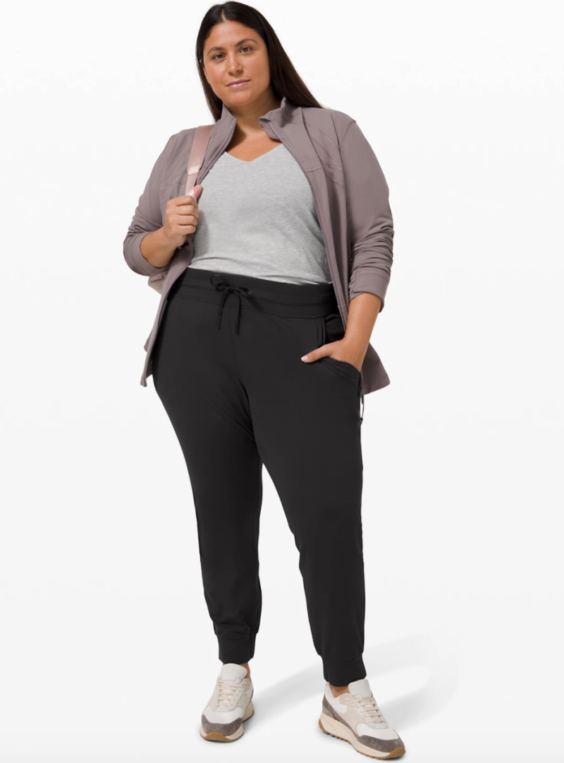 Lululemon's extended size range includes six pieces available in sizes 0-20. Image via Lululemon.
