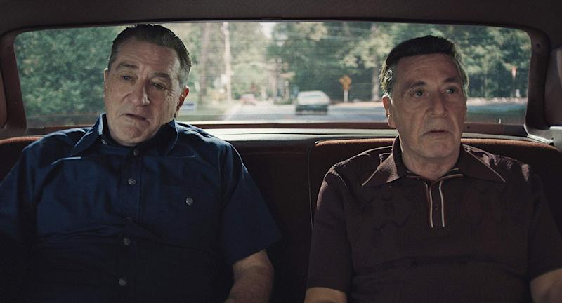 Robert DeNiro and Al Pacino in The Irishman
