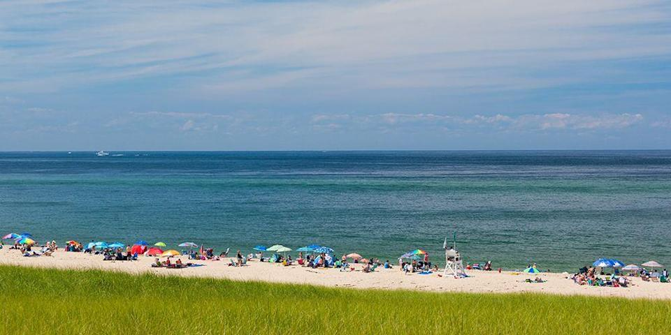 """<p>Cape Cod has plenty of Insta-worthy sights — two of its best beaches are within the <a href=""""https://www.tripadvisor.com/Attraction_Review-g185492-d187922-Reviews-Cape_Cod_National_Seashore-Cape_Cod_Massachusetts.html"""" rel=""""nofollow noopener"""" target=""""_blank"""" data-ylk=""""slk:Cape Cod National Seashore"""" class=""""link rapid-noclick-resp"""">Cape Cod National Seashore</a>, stretching 40 miles along the Atlantic. They include Wellfleet's <a href=""""https://www.tripadvisor.com/Attraction_Review-g60754-d272310-Reviews-Marconi_Beach-Wellfleet_Cape_Cod_Massachusetts.html"""" rel=""""nofollow noopener"""" target=""""_blank"""" data-ylk=""""slk:Marconi Beach"""" class=""""link rapid-noclick-resp"""">Marconi Beach</a> (the site where the first wireless signal was sent across the Atlantic in 1903) and Provincetown's <a href=""""https://www.tripadvisor.com/Attraction_Review-g41778-d560324-Reviews-Race_Point_Beach-Provincetown_Cape_Cod_Massachusetts.html"""" rel=""""nofollow noopener"""" target=""""_blank"""" data-ylk=""""slk:Race Point Beach"""" class=""""link rapid-noclick-resp"""">Race Point Beach</a>, known for its spectacular sunsets. </p><p><a class=""""link rapid-noclick-resp"""" href=""""https://go.redirectingat.com?id=74968X1596630&url=https%3A%2F%2Fwww.tripadvisor.com%2FHotel_Review-g41778-d89821-Reviews-Harbor_Hotel_Provincetown-Provincetown_Cape_Cod_Massachusetts.html&sref=https%3A%2F%2Fwww.redbookmag.com%2Flife%2Fg34756735%2Fbest-beaches-for-vacations%2F"""" rel=""""nofollow noopener"""" target=""""_blank"""" data-ylk=""""slk:BOOK NOW"""">BOOK NOW</a> Harbor Hotel Provincetown</p><p><a class=""""link rapid-noclick-resp"""" href=""""https://go.redirectingat.com?id=74968X1596630&url=https%3A%2F%2Fwww.tripadvisor.com%2FHotel_Review-g41499-d89650-Reviews-Chatham_Bars_Inn-Chatham_Cape_Cod_Massachusetts.html&sref=https%3A%2F%2Fwww.redbookmag.com%2Flife%2Fg34756735%2Fbest-beaches-for-vacations%2F"""" rel=""""nofollow noopener"""" target=""""_blank"""" data-ylk=""""slk:BOOK NOW"""">BOOK NOW</a> Chatham Bars Inn</p>"""