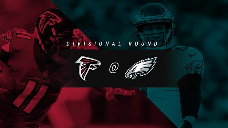 Falcons vs. Eagles: Score, results, highlights from divisional playoff game in Philadelphia