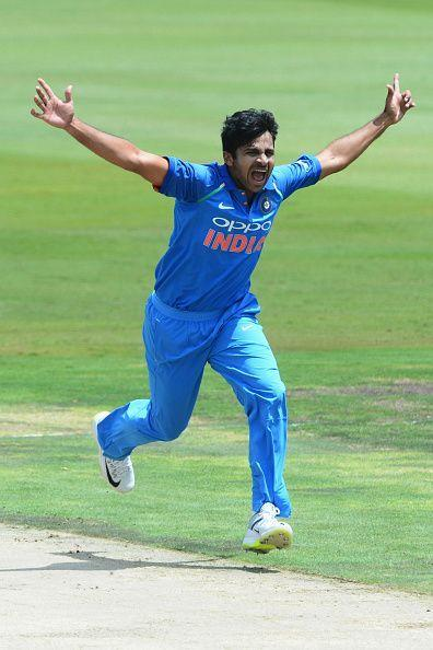 Thakur has been impressive with the new ball