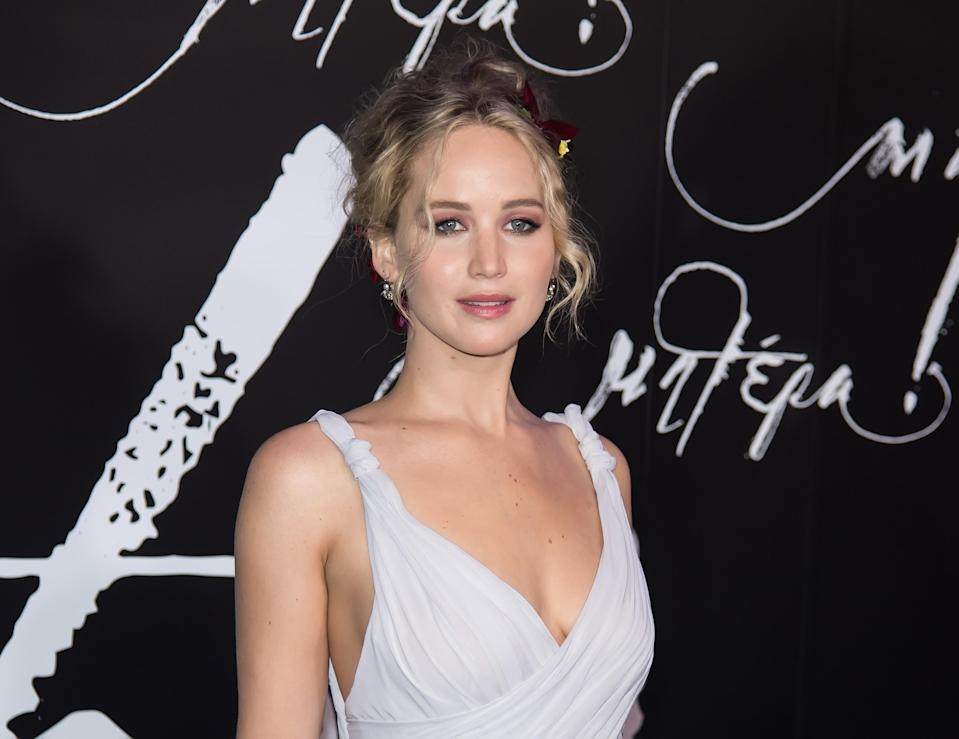 Based on her registry, Jennifer Lawrence clearly values a good night's rest. (Photo: Gilbert Carrasquillo/FilmMagic)