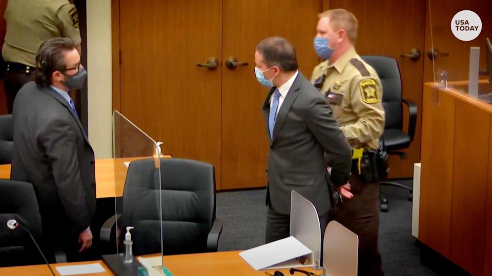 Jury says Derek Chauvin guilty of all charges in George Floyd's death