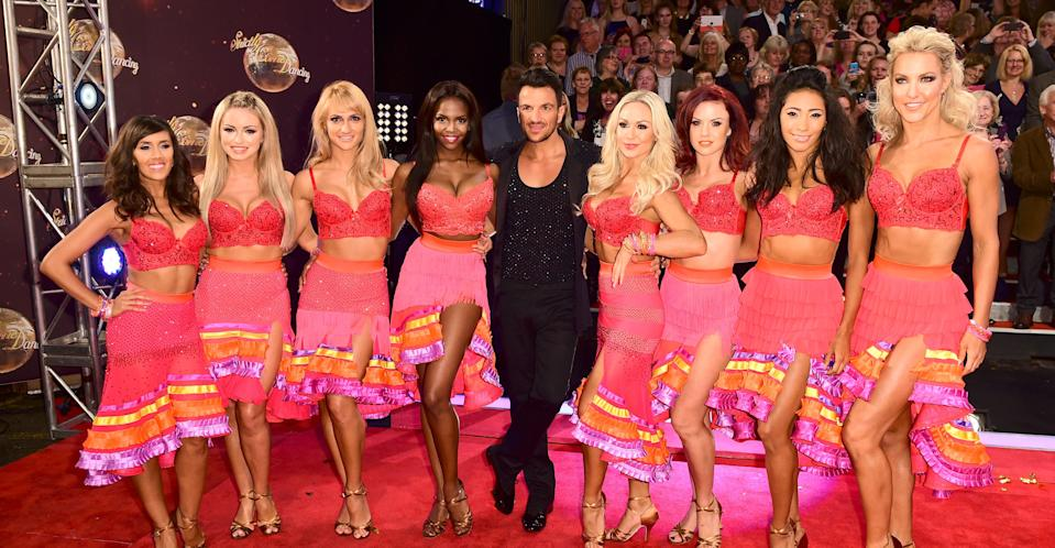 Peter Andre competed on Strictly Come Dancing in 2015 (PA Images).
