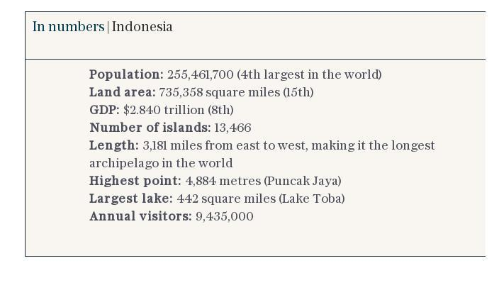 In numbers | Indonesia