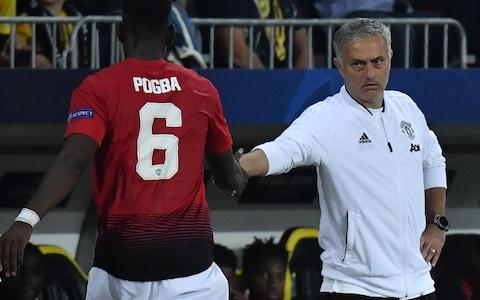 Mourinho continues to enjoy the backing of the United board despite the ongoing Pogba saga - Credit: AFP