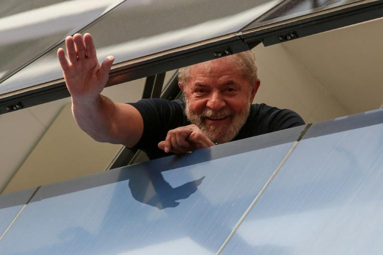 Jailed former president Luiz Inacio Lula da Silva, seen here in April, has had his latest appeal to be allowed to run in October's polls rejected