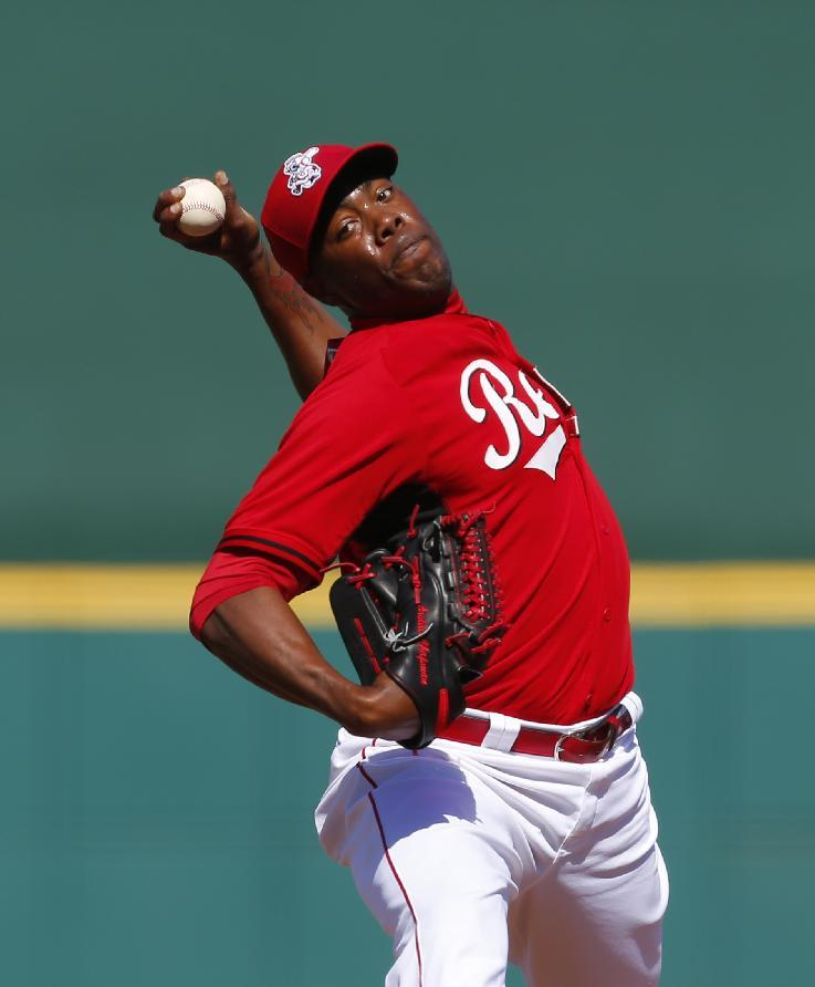 Reds' Chapman ready for rehab stint in minors