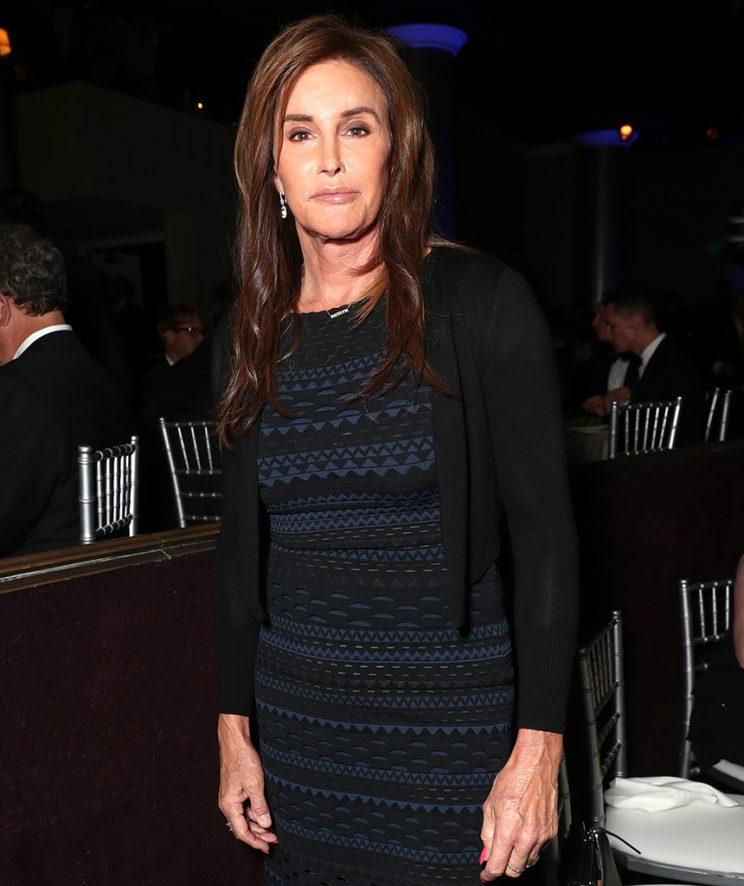 Caitlyn Jenner at 28th Annual GLAAD Media Awards.