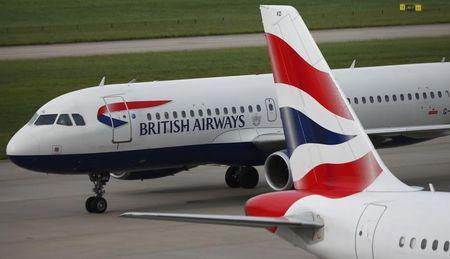 Shares in BA-owner IAG fall 4 pct after weekend chaos