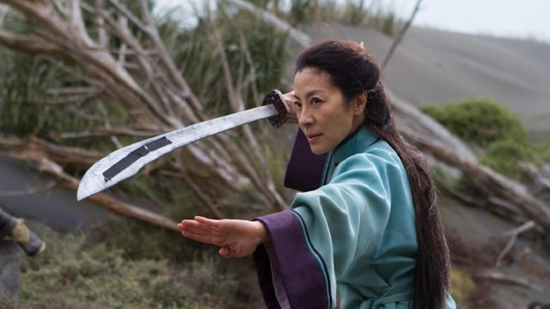 Michelle Yeoh in 'Crouching Tiger, Hidden Dragon: Sword of Destiny' (credit: Netflix)