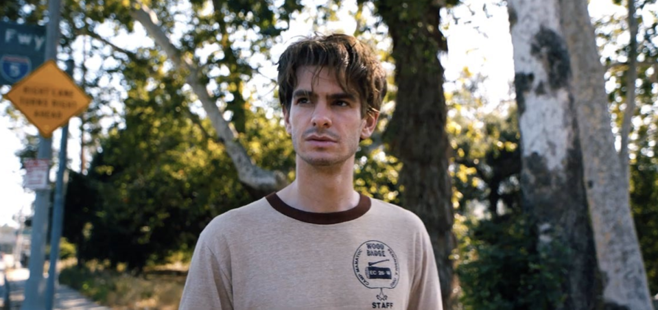 """<p>For his follow-up to <em>It Follows</em>, writer/director David Robert Mitchell enlists Andrew Garfield for a Thomas Pynchon-style mystery involving a loner who embarks on a crazy conspiracy theory-driven mission to find Riley Keough's beguiling beauty. All signs point to it being a new neo-noir gem. 