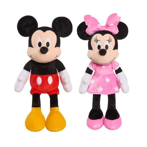 Minnie Plush and Mickey Plush. (Photo: Walmart)