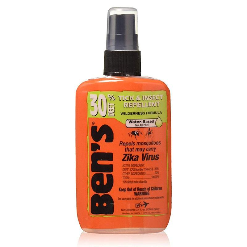 Ben's 30% Deet Insect Repellent Spray. (Photo: Amazon)