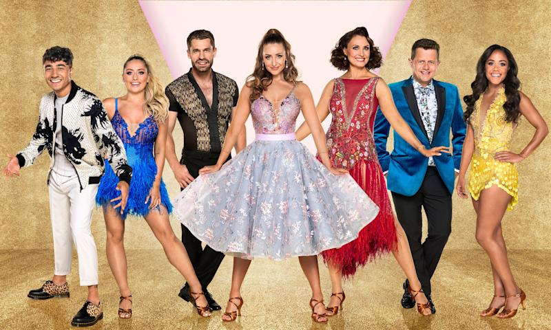 Karim Zeroual, Catherine Tyldesley and Emma Barton will also be heading off on tour next year (Photo: BBC)