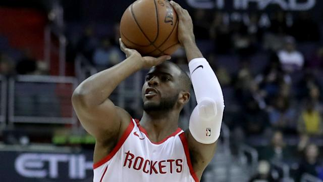 The Houston Rockets were inspired by Chris Paul, while Golden State Warriors star Kevin Durant celebrated 20,000 NBA points on Wednesday.