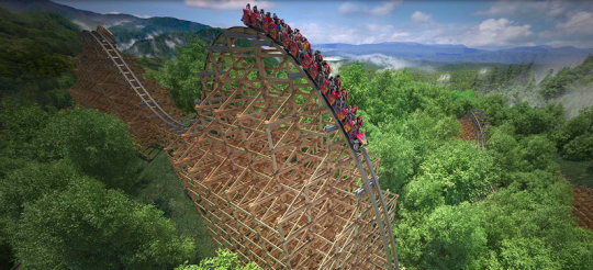 Dollywood Unveils Plans For Worlds Fastest Wooden Coaster