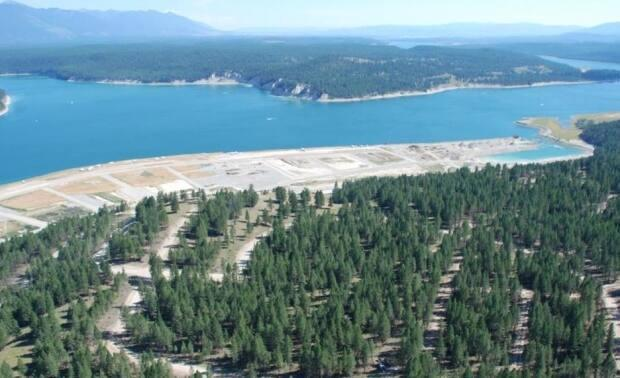 The victims thought they were purchasing spaces at a development on the shores of Lake Koocanusa in B.C. (Scam Sweetwater, Marcer Ranching, Craig Douglas McMorran, Clearwater RV/Facebook - image credit)