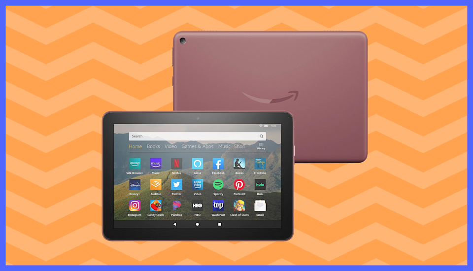 Get the Fire HD 8 bundled with goodies courtesy of QVC. (Photo: Amazon)