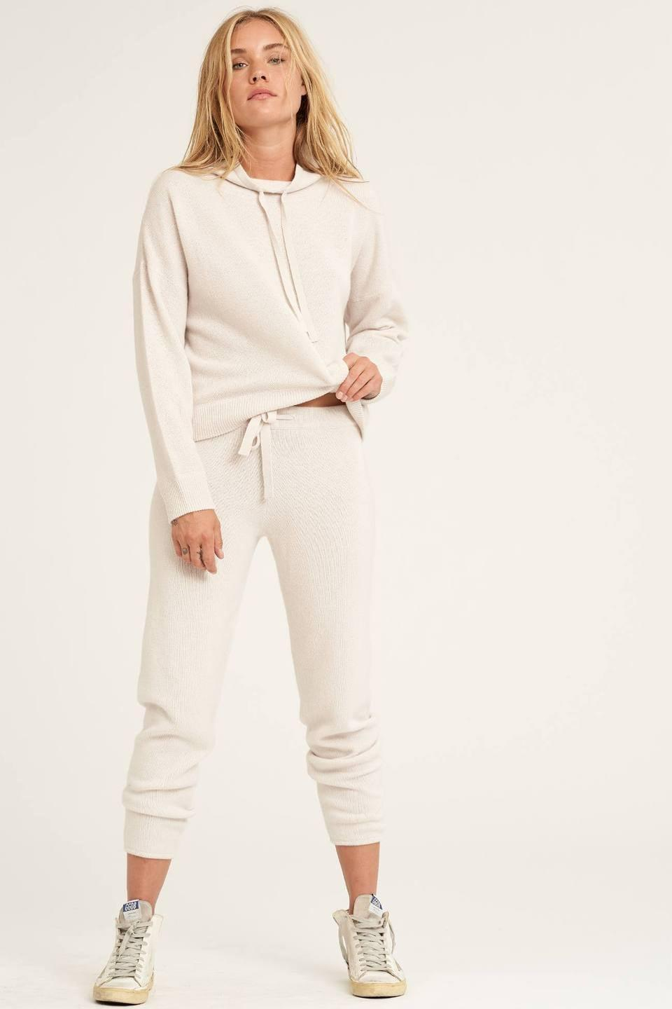 <p>This <span>Naked Cashmere Joan Pullover</span> ($250) and <span>Candice Jogger</span> ($275) set is a bestseller, and it's easy to see why.</p>