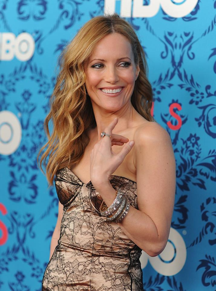 """Leslie Mann attends the premiere of HBO's """"<a target=""""_blank"""" href=""""http://tv.yahoo.com/girls/show/47563"""">Girls</a>"""" at the School of Visual Arts Theater on April 4, 2012 in New York City."""