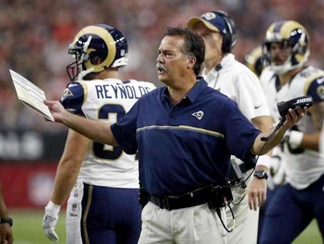 Jeff Fisher has the Rams off to a 3-1 start (AP)
