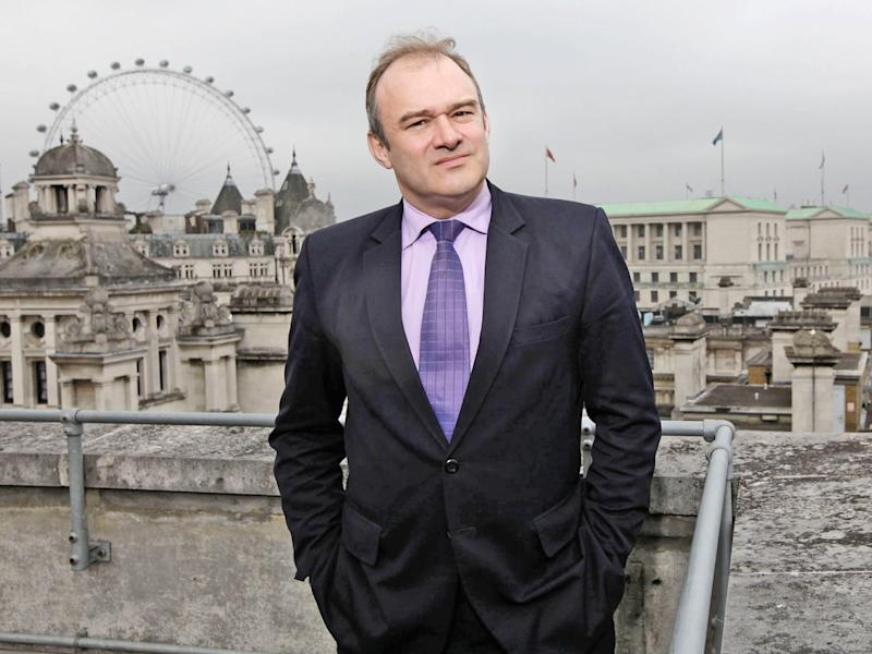 Ed Davey has signalled he will not campaign to take the UK back into the EU immediately (Justin Sutcliffe)