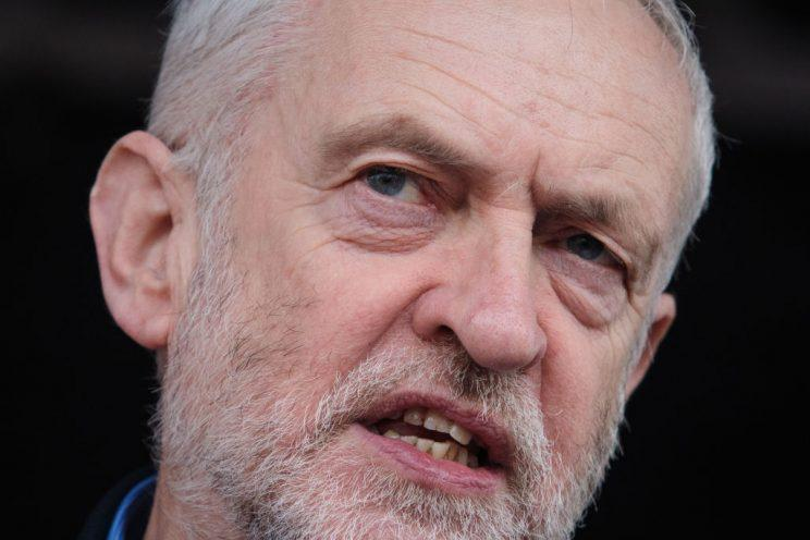 Labour leader Jeremy Corbyn slammed Theresa May's Brexit strategy (Getty Images)