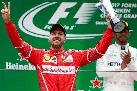 F1 2017 Chinese Grand Prix result: Lewis Hamilton wins in Shanghai