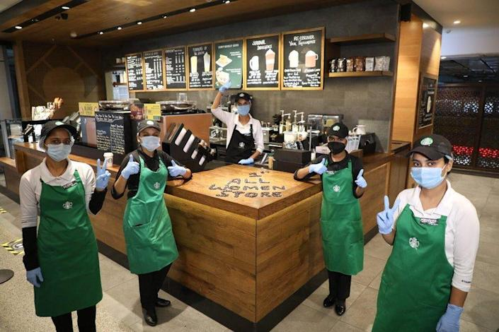 Image from Twitter page of Starbucks News