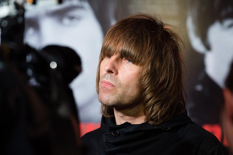 Tirade: Liam Gallagher launched his attack on Twitter: Jeff Spicer/Getty Images