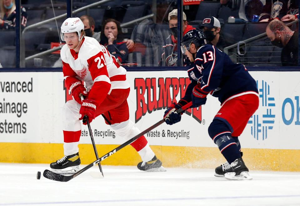 The Red Wings lost their season finale, May 8, in overtime to finish 19-27-10, ranking 27th in the final NHL standings.