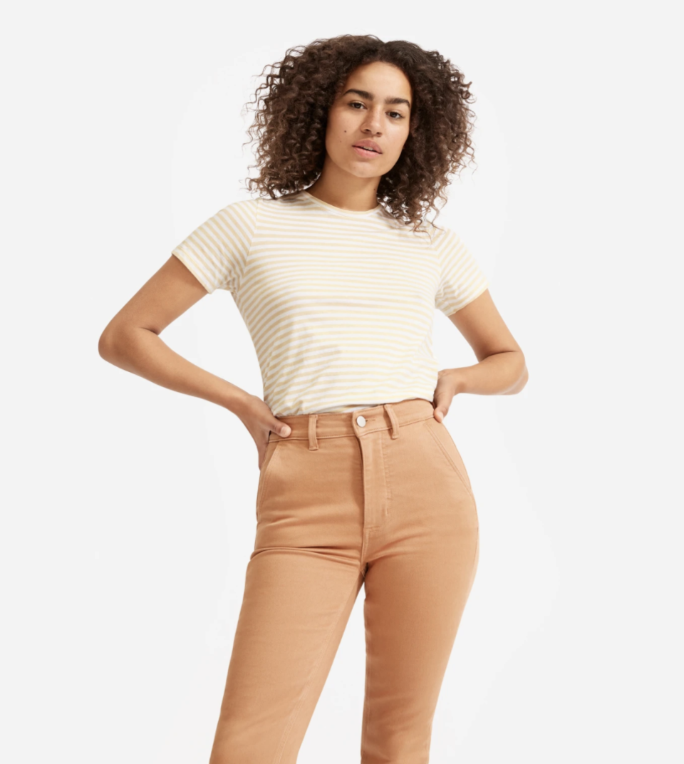 The perfect length for tucking. (Photo: Everlane)