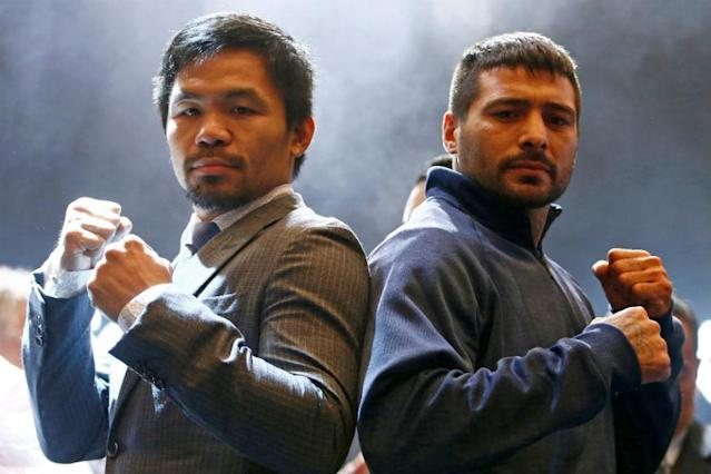 Philippine boxing legend Manny Pacquiao insisted Friday that his advancing years were no barrier to success as he gears up for a showdown against world champion Lucas Matthysse