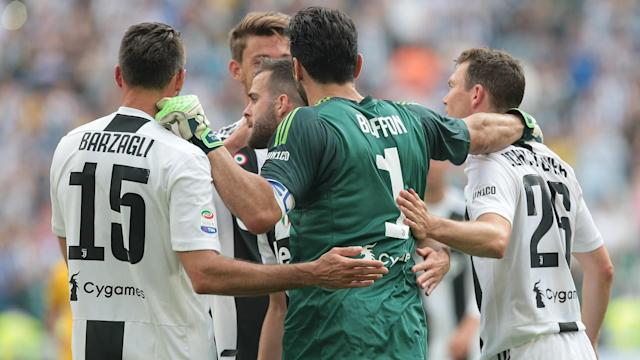 Juventus defenders Andrea Barzagli and Mehdi Benatia heaped praise on Gianluigi Buffon following his Turin farewell.