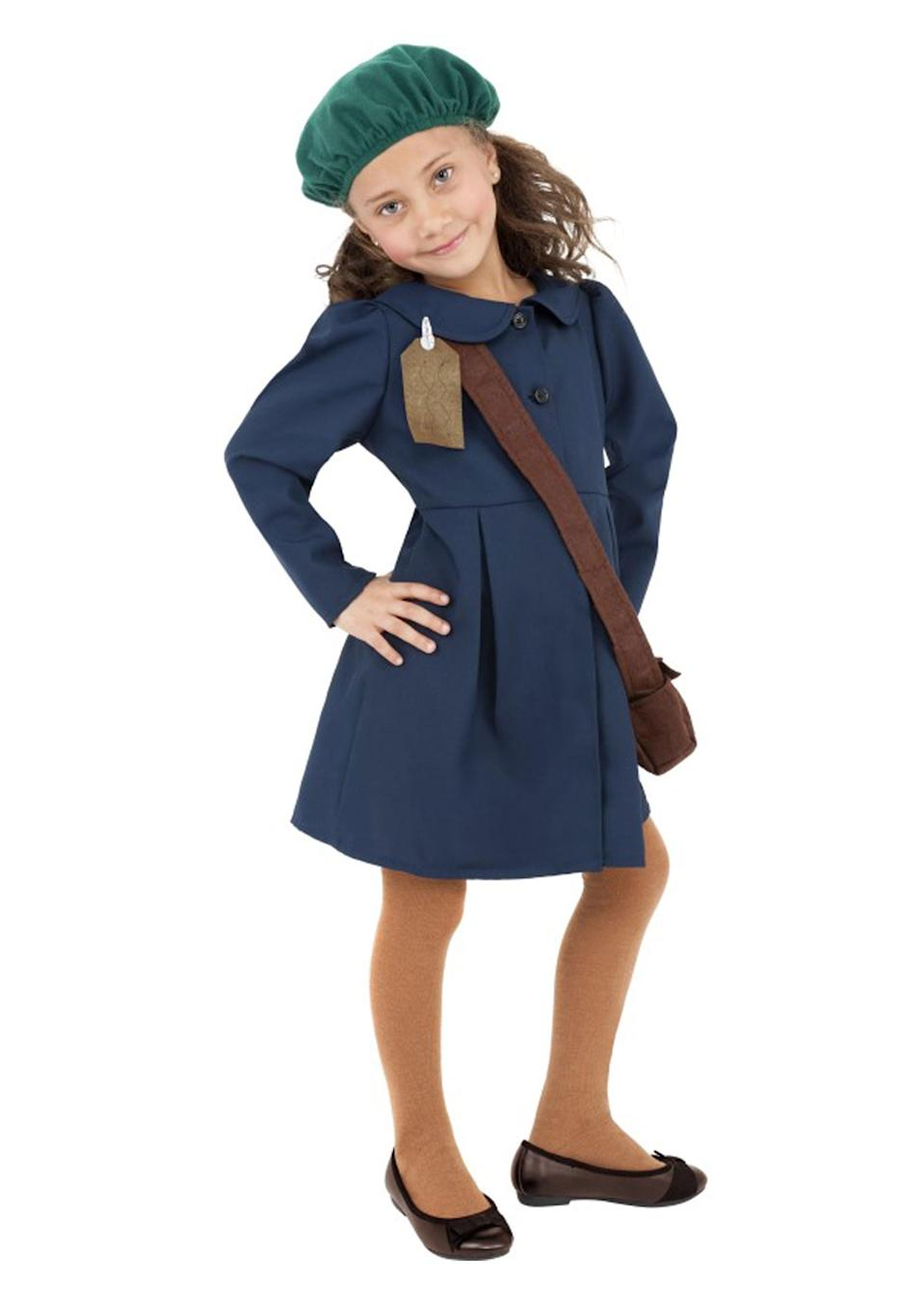 <p>Retailers have faced a huge backlash for this Anne Frank costume which is designed to make children look like the most well-known Holocaust victim. The outfit – which is made up of a blue dress, beret and crossbody bag – has alternatively been called 'World War Two Child Evacuee'. Not much better, really.<br><i>[Photo: Halloween Costumes]</i> </p>