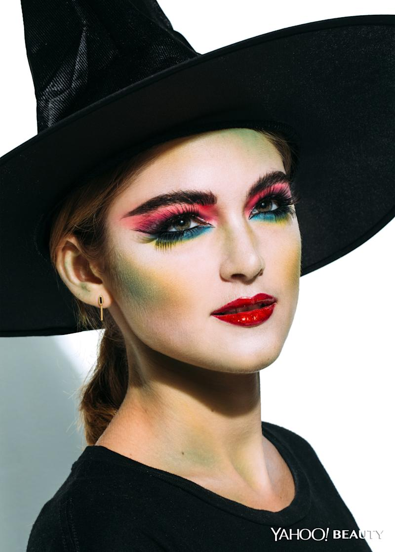 halloween beauty tutorial: the cool witch