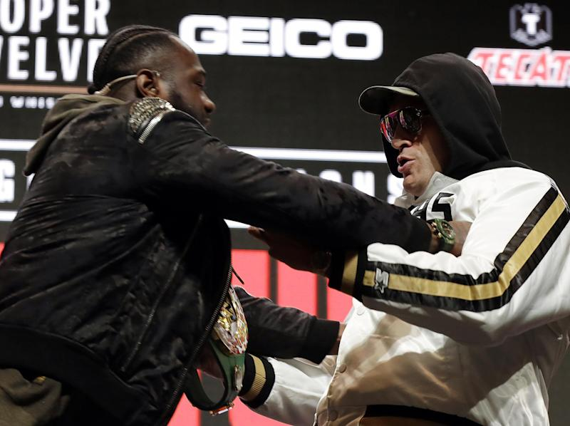 Follow the latest boxing news live: Getty