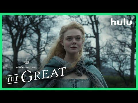 """<p>Elle Fanning stars in this new Hulu original that depicts her fictionalized rise from Catherine the Nothing to Catherine the Great. It's a satirical, comedic drama set in 18th-century Russia, with some occasional historical accuracies and plenty of love, hate, and humor. It's already been renewed for a second season, so definitely worth the watch.</p><p><a class=""""link rapid-noclick-resp"""" href=""""https://go.redirectingat.com?id=74968X1596630&url=https%3A%2F%2Fwww.hulu.com%2Fseries%2Fthe-great-238db0d4-c476-47ed-9bee-d326fd302f7d&sref=https%3A%2F%2Fwww.esquire.com%2Fentertainment%2Fmusic%2Fg30389440%2Fbest-shows-on-hulu%2F"""" rel=""""nofollow noopener"""" target=""""_blank"""" data-ylk=""""slk:Watch Now"""">Watch Now</a></p><p><a href=""""https://www.youtube.com/watch?v=hJGedvRfHYg"""" rel=""""nofollow noopener"""" target=""""_blank"""" data-ylk=""""slk:See the original post on Youtube"""" class=""""link rapid-noclick-resp"""">See the original post on Youtube</a></p>"""