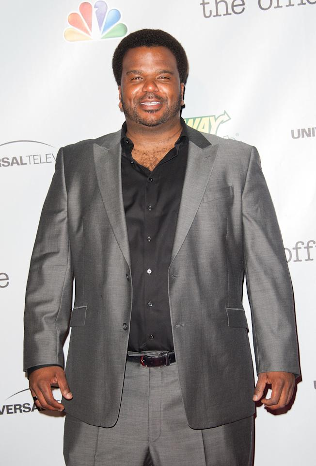CULVER CITY, CA - MARCH 16: Craig Robinson arrives at 'The Office' series finale wrap party at Unici Casa Gallery on March 16, 2013 in Culver City, California. (Photo by Valerie Macon/Getty Images)