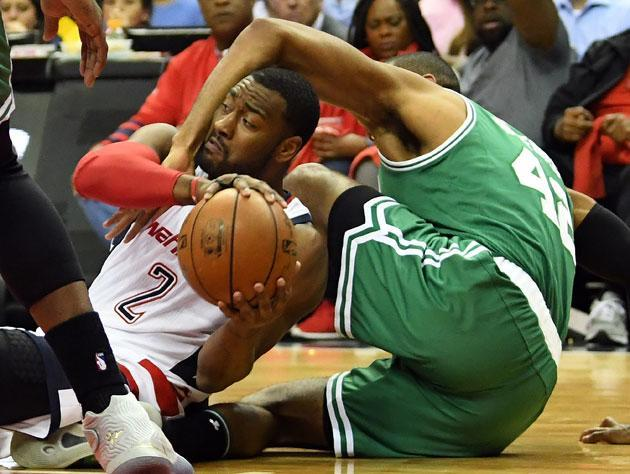 John Wall, during a typical play. (Getty Images)