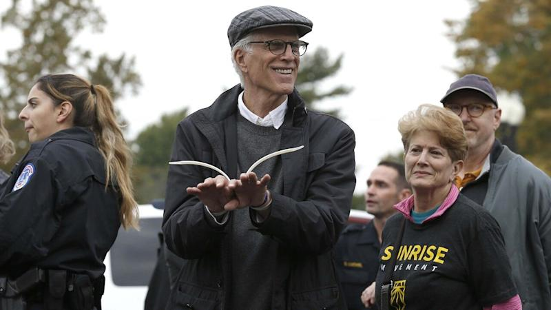 Jane Fonda and Ted Danson Arrested While Protesting in Front of U.S. Capitol Building