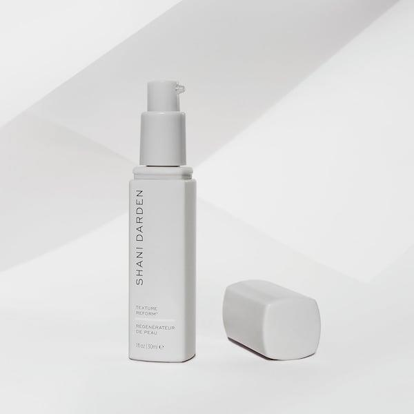 <p>We are now at the serum portion of the routine, and at night I've been obsessed with this <span>Shani Darden Texture Reform</span> ($88). I'm at the point in my life where I need to start using retinol, but as previously stated, my skin is sensitive, so this is a great beginner option. It also smells like roses, which is always a plus.</p>