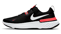 """<p><a class=""""link rapid-noclick-resp"""" href=""""https://go.redirectingat.com?id=127X1599956&url=https%3A%2F%2Fwww.nike.com%2Fgb%2Ft%2Freact-miler-running-shoe-CDmF8B%2FCW1777-001&sref=https%3A%2F%2Fwww.esquire.com%2Fuk%2Fstyle%2Fshoes%2Fg24739613%2Fbest-mens-running-shoes%2F"""" rel=""""nofollow noopener"""" target=""""_blank"""" data-ylk=""""slk:SHOP"""">SHOP</a></p><p>The plush new Nike React Milers – released in mid-April – are all about stability and comfort over long distances (peek inside, and you'll find the line 'TRUST FOR MILES'). To that end, the mid-foot cage gives you a locked-in fit without cramping your toes together or constricting natural swelling, and high-abrasion rubber on the sole helps to defend against wear and tear. We're big fans of the colourway, but look out for the grey/neon yellow and white/blue versions too, which are set for release soon.</p><p>Nike React Miler, £114.95, <a href=""""https://go.redirectingat.com?id=127X1599956&url=https%3A%2F%2Fwww.nike.com%2Fgb%2Ft%2Freact-miler-running-shoe-CDmF8B%2FCW1777-001&sref=https%3A%2F%2Fwww.esquire.com%2Fuk%2Fstyle%2Fshoes%2Fg24739613%2Fbest-mens-running-shoes%2F"""" rel=""""nofollow noopener"""" target=""""_blank"""" data-ylk=""""slk:nike.com"""" class=""""link rapid-noclick-resp"""">nike.com</a></p>"""